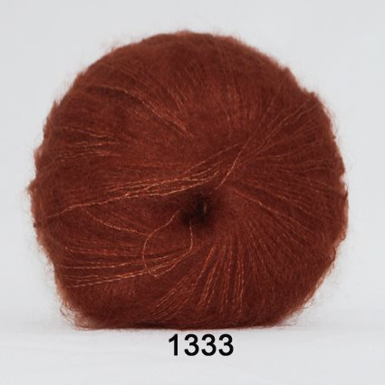 Kid Silk Mohair 1333 Rust