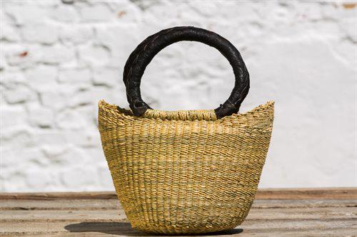 U-Shape mini basket Natur