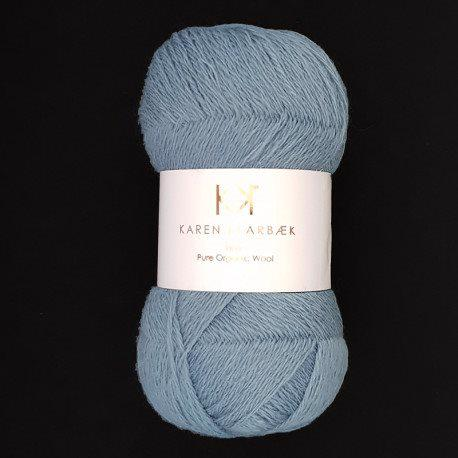 Fine Pure Organic Wool 2504 Blue