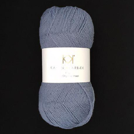 Fine Pure Organic Wool 2503 Dark blue