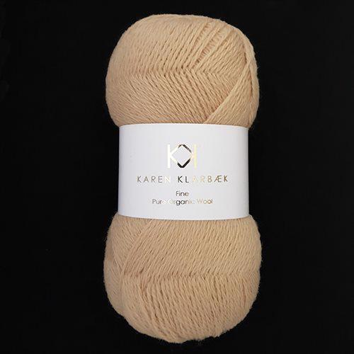 Fine Pure Organic Wool 2510 Golden
