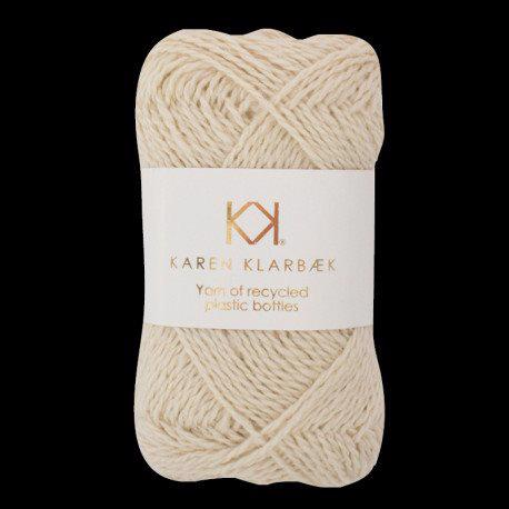 Recycled Bottle Yarn 01 Nature White