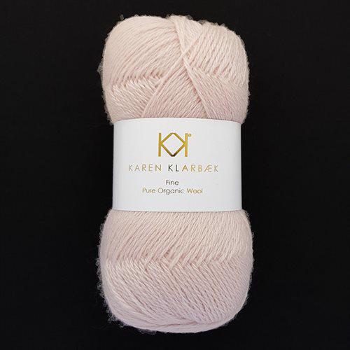 Fine Pure Organic Wool 2513 Old Rose