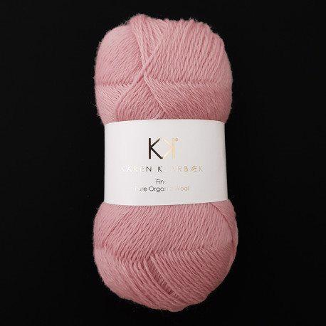 Fine Pure Organic Wool 2502 Rose